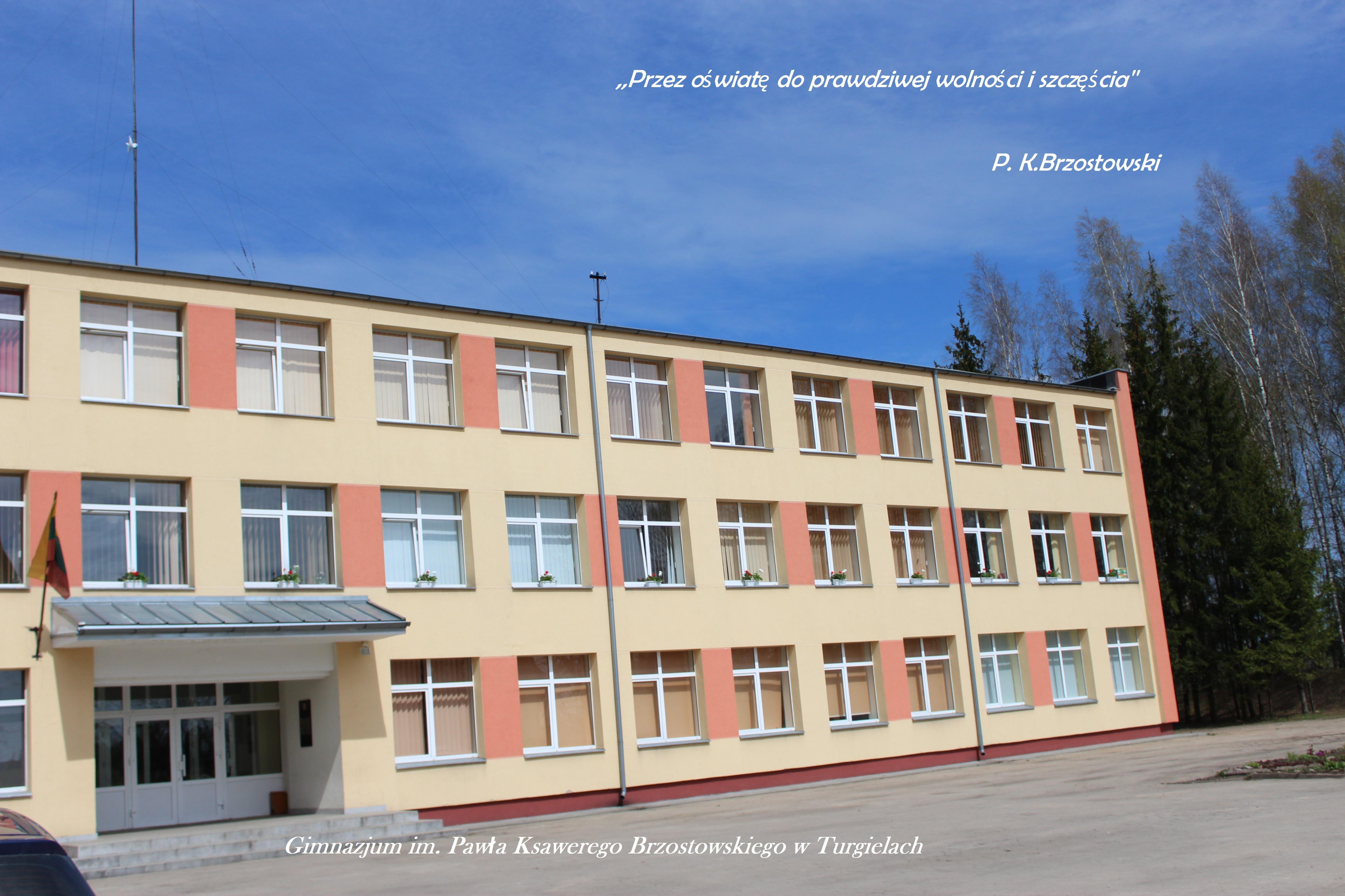 Gimnazjum imienia Pawła Ksawerego Brzostowskiego w Turgielach